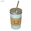 Изображение Керамическая кружка HOME LIFE голубая, 480 мл, арт. YM6043