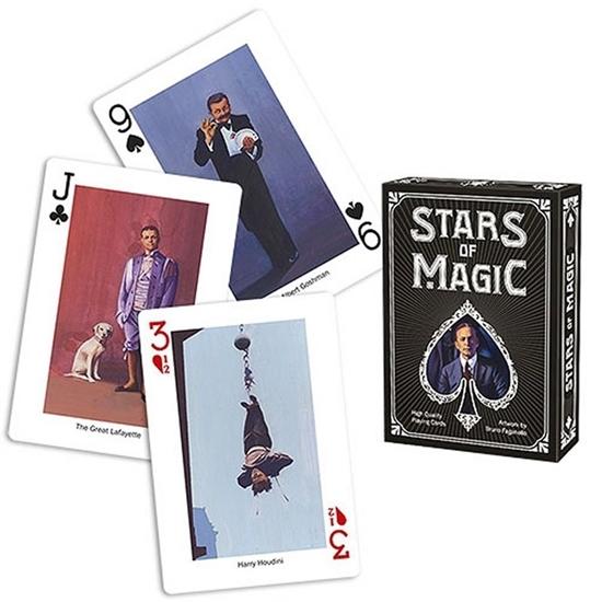 Игральные карты «Звезды магии», белые