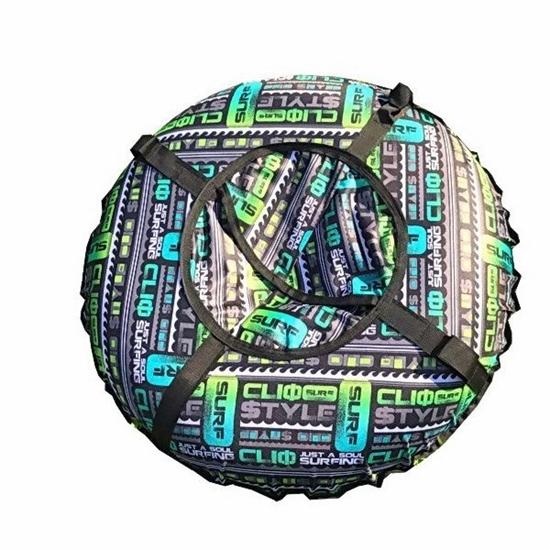 """Санки надувные """"Тюбинг"""" (диаметр 1.1 м, зеленый цвет)"""