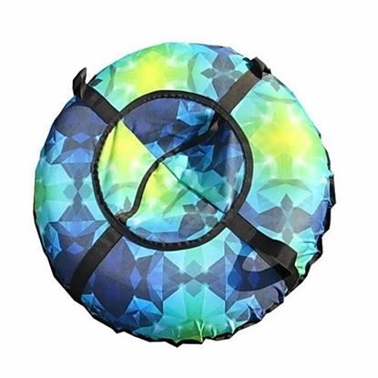 """Санки надувные """"Тюбинг"""" (диаметр 0.9 м, синий цвет)"""