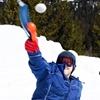 Снежкометатель (Hit snow toy, цвет синий)
