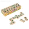 Деревянная развивающая игра Пелси «Домино детское, Военная техника»