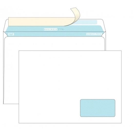 Почтовый конверт C4 БИЗНЕССПОСТ, strip, нижнее правое окно (55×110 мм), 1000 шт.