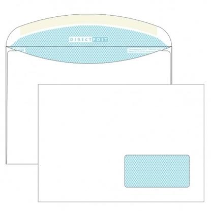 Почтовый конверт С5 ДИРЕКТПОСТ, декстрин, правое окно (45×90 мм), 1000 шт.