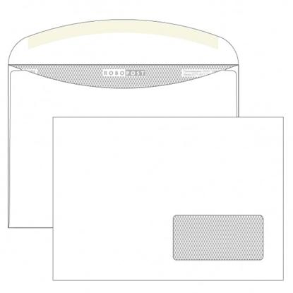 Почтовый конверт С5 РОБОПОСТ, декстрин, правое окно (45×90 мм), 1000 шт.