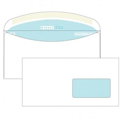 Почтовый конверт С65 ДИРЕКТПОСТ, декстрин, правое окно (45×90 мм), 1000 шт.