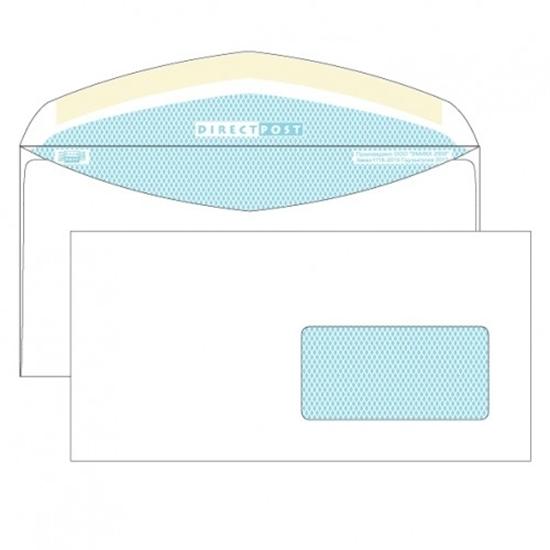 Почтовый конверт DL ДИРЕКТПОСТ, декстрин, правое окно (45×90 мм), 1000 шт.