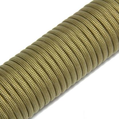 """Паракорд 550,  золотой """"Golden"""" (4 мм), 30 метров"""