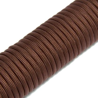 """Паракорд 550,  коричневый """"Brown"""" (4 мм), 30 метров"""