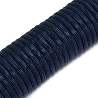 """Паракорд 550,  темно-синий """"Navy blue"""" (4 мм), 30 метров"""