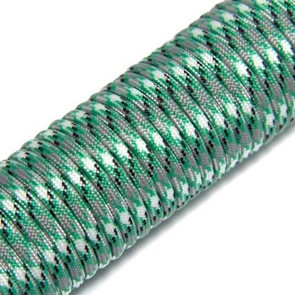 """Паракорд 550, травяной зеленый камуфляж """"Grass green camo"""" (4 мм), 30 метров"""
