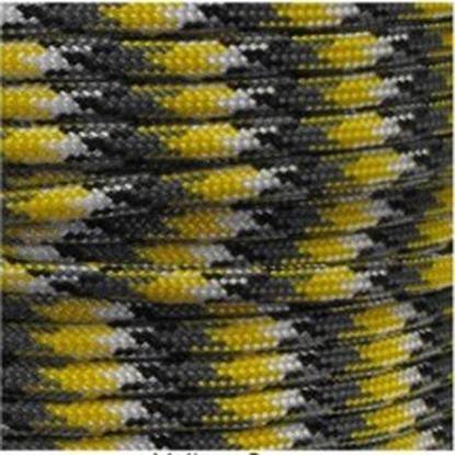 """Паракорд 550,  бело желтый камуфляж """"White yellow camo"""" (4 мм), 30 метров"""