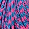 """Паракорд 550,  кислотный розовый """"Acid pink"""" (4 мм), 30 метров"""