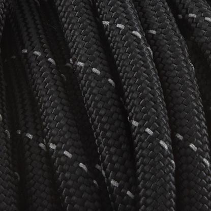 "Паракорд 550,  черный+серый ""Bluck+grey"" (4 мм), 30 метров"