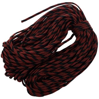 """Паракорд 550, винно-красный камуфляж """"Wine red camo"""" (4 мм), 30 метров"""