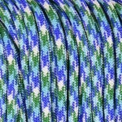 """Паракорд 550, фиолетовый+синий """"Purple+blue"""" (4 мм), 30 метров"""