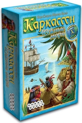 Настольная игра Каркассон. Южные моря.
