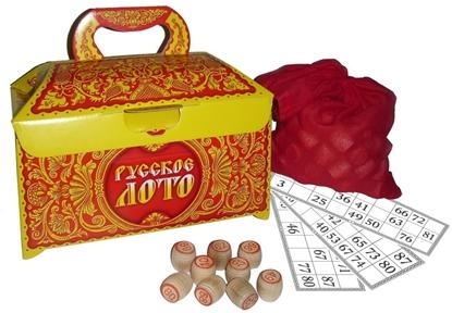 Игра настольная. Русское лото 1969