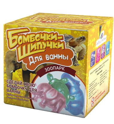 Набор Бомбочки-Шипучки для ванны - Зоопарк