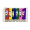Пальчиковые краски, смывающиеся, 6 цветов.
