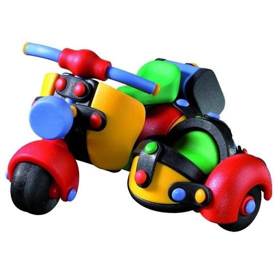 """Конструктор MIC-O-MIC: """"Мотоцикл с коляской"""""""