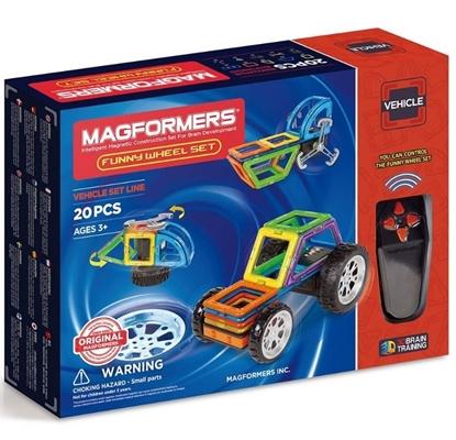 """Магнитный конструктор Magformers""""Funny Wheel Set 20P"""""""