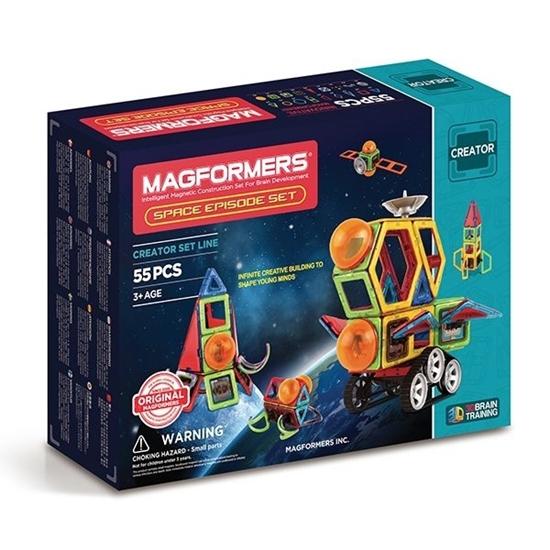 "Магнитный конструктор ""Magformers Space Episode set 55P"""
