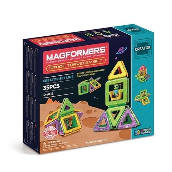 """Магнитный конструктор """"Magformers Space Traveler Set (35 дет)"""""""