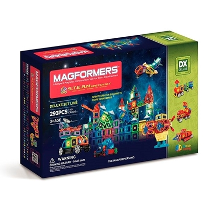 "Магнитный конструктор ""Magformers Steam Master set"""