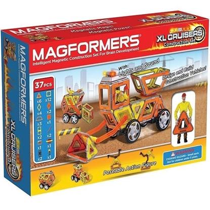 Магнитный конструктор Magformers XL Cruisers | Строители (37 дет)