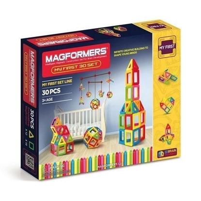 Магнитный конструктор Magformers My First 30