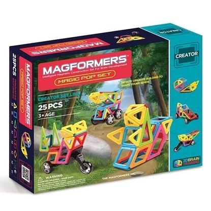 Магнитный конструктор Magformers Magic Pop Set (25 дет)
