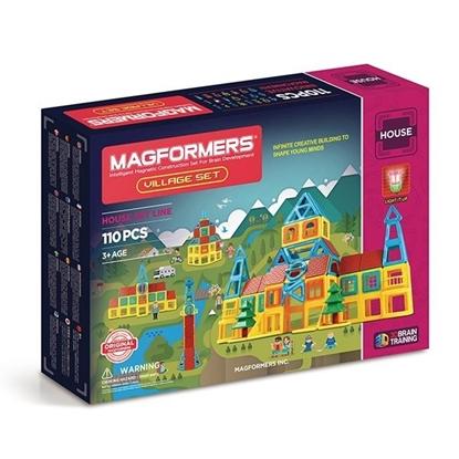 Магнитный конструктор Magformers Village Set (110 дет)
