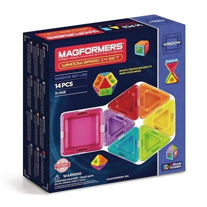 Магнитный конструктор Magformers Window Basic 14