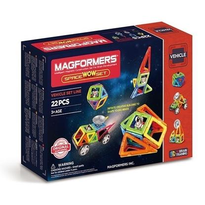 Магнитный конструктор Magformers Space Wow Set (22 дет)