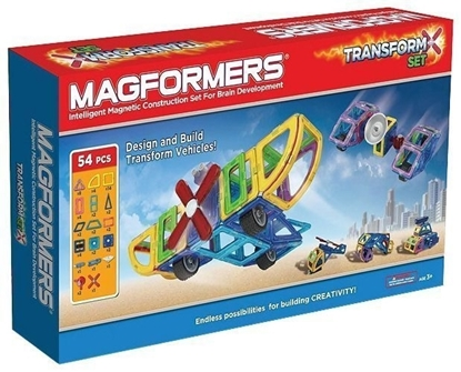 Магнитный конструктор Magformers Transform Set (54 дет)