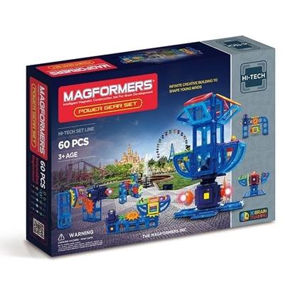 Магнитный конструктор Magformers Power Gear Set (60 дет)