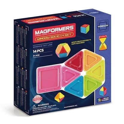 Магнитный конструктор Magformers Window Solid 14