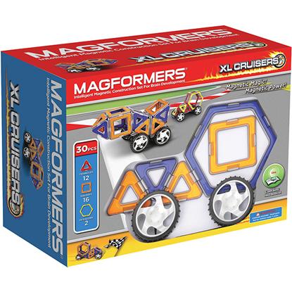 Магнитный конструктор Magformers XL Cruisers  Машины (30 дет)