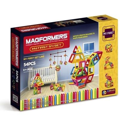 Магнитный конструктор Magformers My First 54