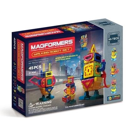 Магнитный конструктор Magformers Walking Robot Set (45 дет)