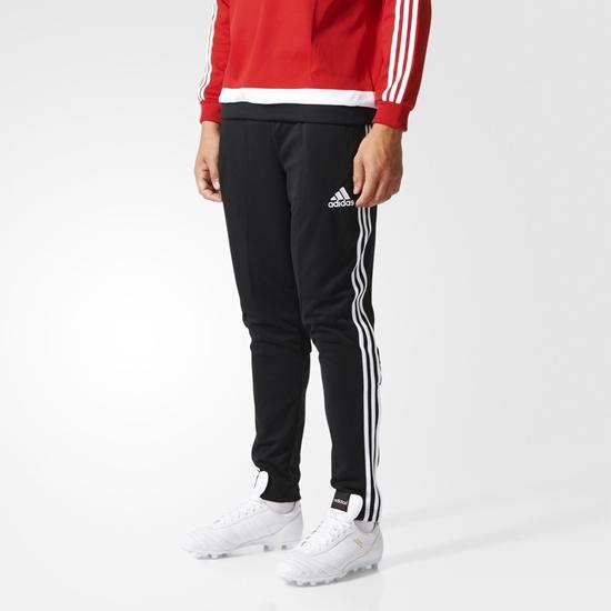 Мужские спортивные штаны Adidas TIRO 15 TRG PNT, чёрные/бел.