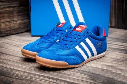 Мужские кроссовки Adidas DRAGON, синий/белый