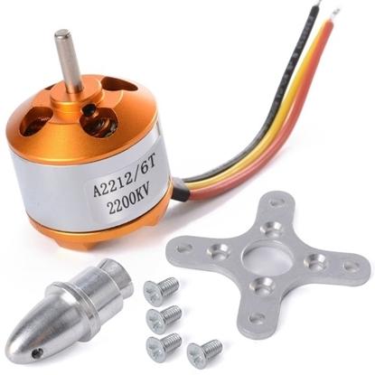 Бесколлекторный двигатель A2212 — 2200KV