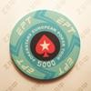 Керамические фишки EPT (PokerStars European Poker Tour), номинал 5000