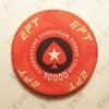 Керамические фишки EPT (PokerStars European Poker Tour), номинал 10000