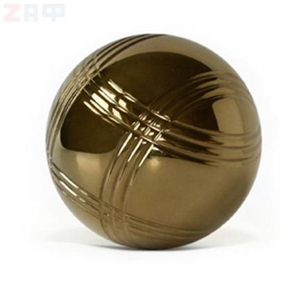 Игра Петанк (Бочче), 3 шара, золотой