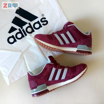Мужские кроссовки Adidas ORIGINALS, бордовые