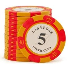 Изображение Фишки для покера Las Vegas, 14 г, номинал 5
