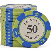 Фишки для покера Las Vegas, 14 г, номинал 50